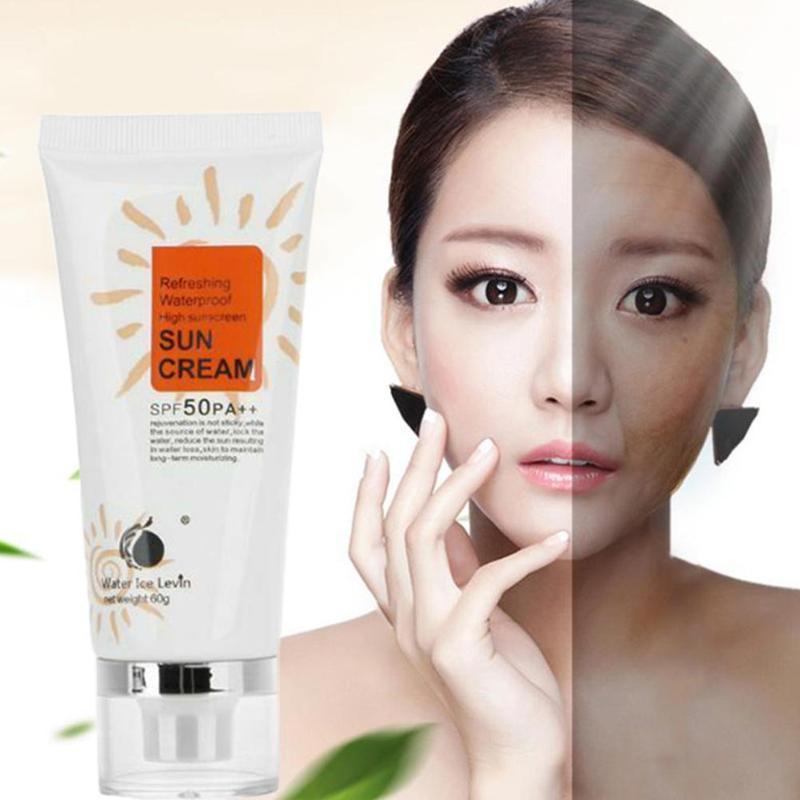 Isolation UV Sunblock Body Sunscreen Concealer Beauty Skin Care Waterproof Body Sunscreen Creams Sun Lotion SPF50 PA+