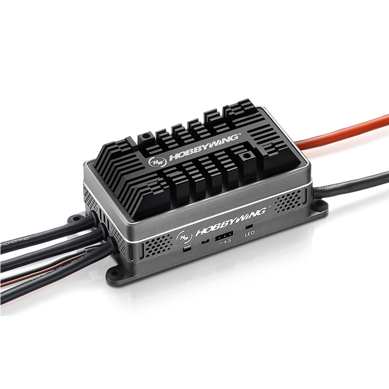 Hobbywing Platinum HV 200A OPTO V4 30209100 6-14S BL ESC for 700 -800 class heli giant scale rc Built-in Sparkproof Circuit