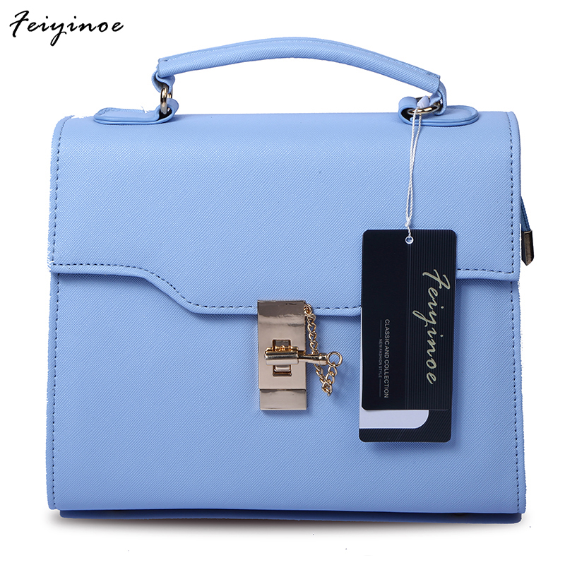 Korean version 2017 new female diagonal portable baodan shoulder handbags the fashion pack women handbag