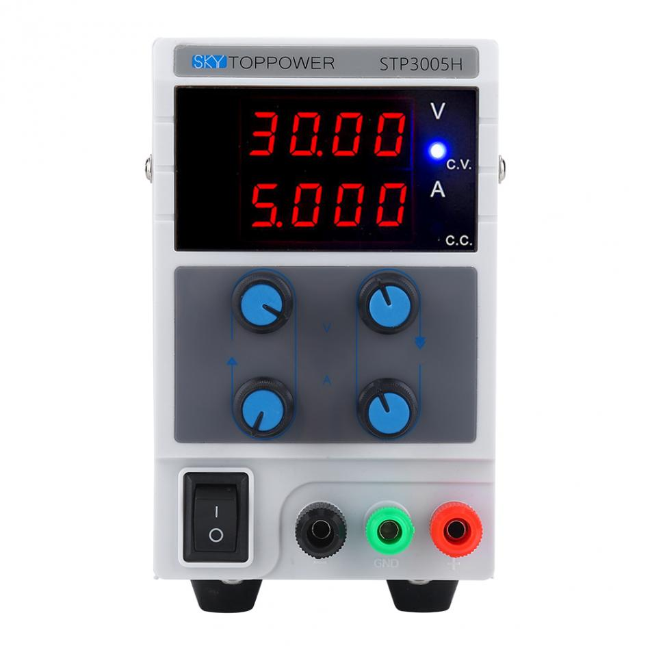 SKYTOPPOWER STP3005H 0 30V 0 5A Regulated DC Power Supply 4 digit Display Input 110 220V