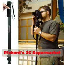 Wholesale WT1003 Alloy Monopod Light-weight 67″ Digital camera Monopod WT-1003 For Canon Eos Nikon D DSLR digital camera Free Transport with bag