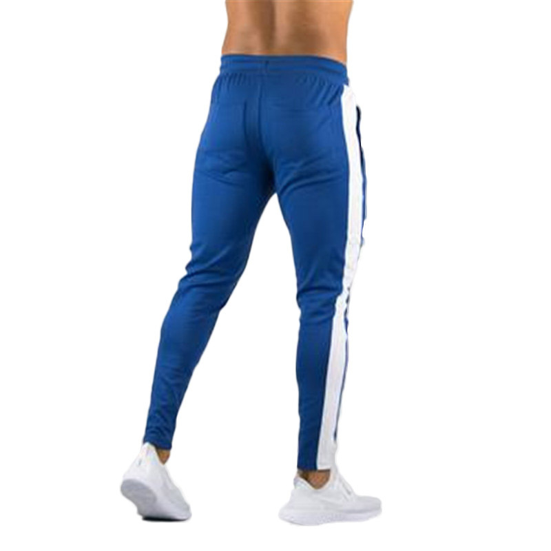 ENJPOWER New Men Pants Hip Hop Fitness clothing Joggers Sweatpants Side stripe classic fashion Streetwear Track Pants Trousers 4