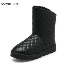 dower me 2017 ladies' snow boots warm shoes home shoes female boots women's shoesthe lowest price in thewhole net
