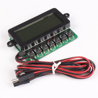 PCT601 PC Timing On Off Controller LCD Display Timer Control Panel For Computer Control