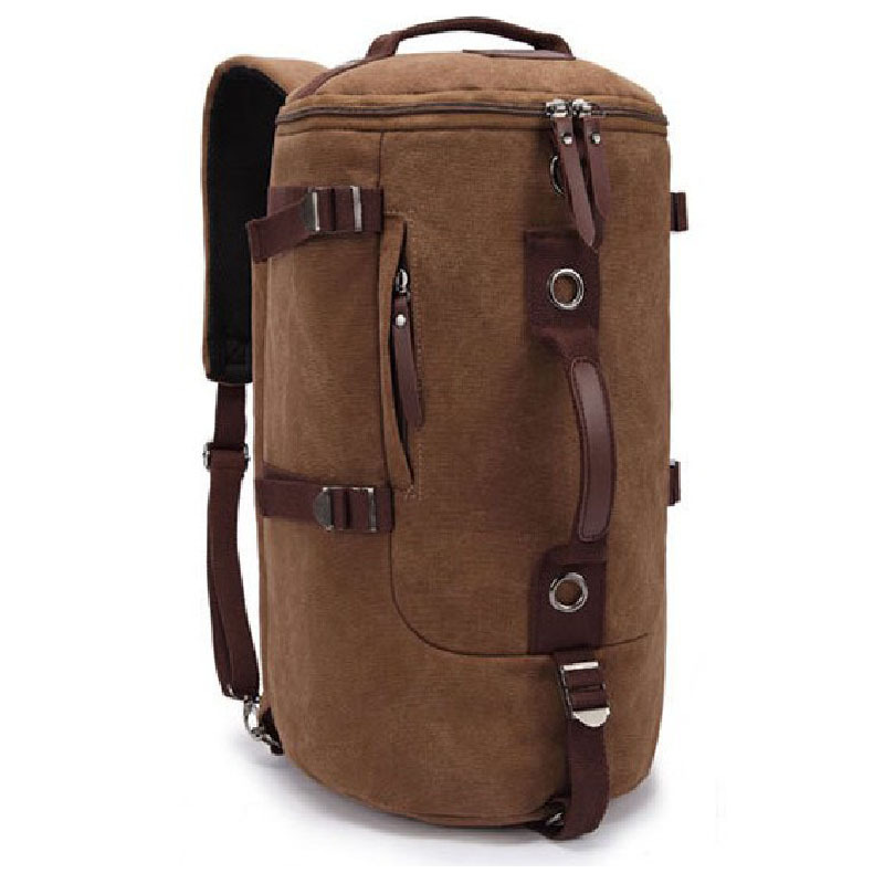 Large Capacity Travel Bags Man Military Tactical Outdoor Mountaineering Camping Hiking Backpack Canvas Bucket Shoulder Bag