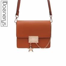 Daenerys 2018 Fashion Women Handbags For Girls Crossbody Messenger Bags Female Clutch Solid Purse Hotsale Small Square Bag