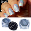 Elite99 Perfect Holo Effect Against Any Base Color Shinning Pigment Mirror Powder with Brush for Nail Gel Polish DIY Nail Art