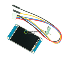 """English Nextion 2.4"""" TFT 320 x 240 Resistive Touch Screen USART UART HMI Serial LCD Module Display For Arduino Raspberry Pi 2 A+"""