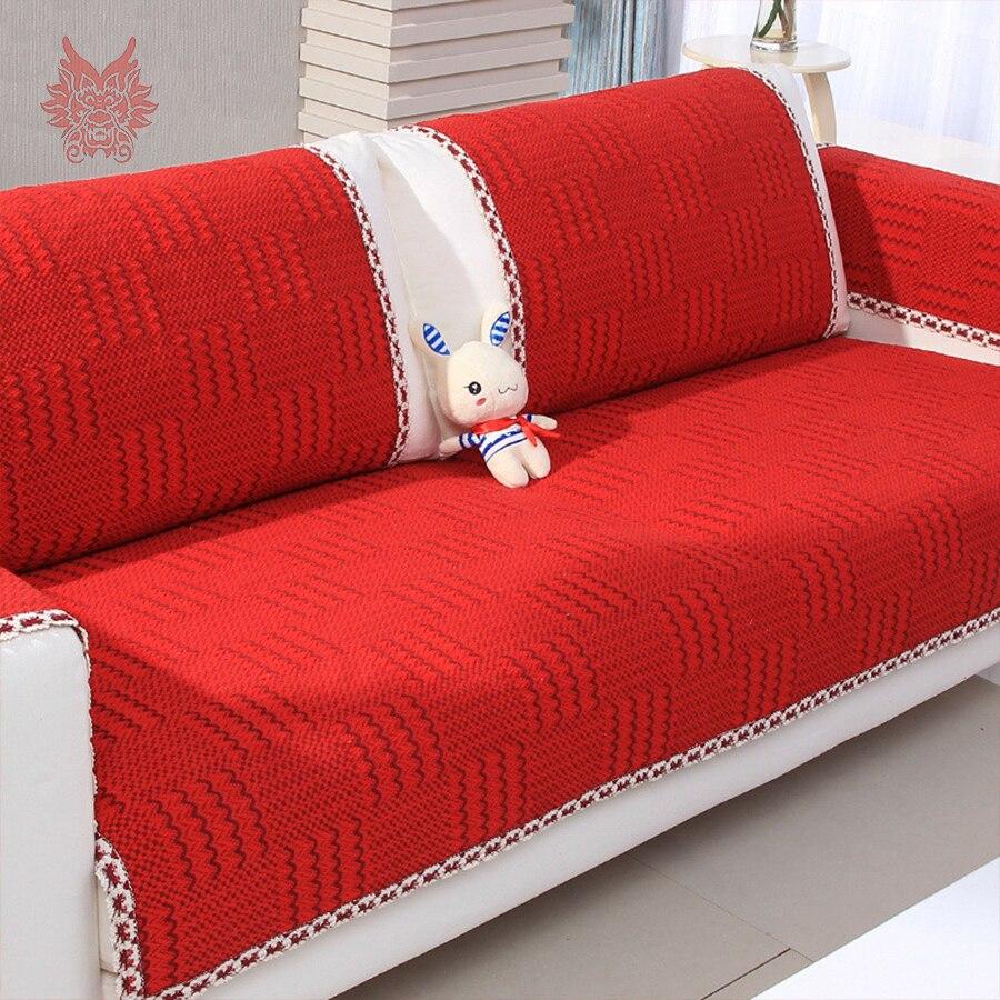 Aliexpresse Canapé : Aliexpress comprar estilo moderno rojo de algodón
