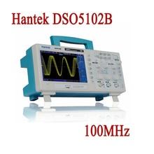 Цифровой Oscillscope Hantek DSO5102B 2 Каналов 100 МГц Настольный USB Oscillsocope LCD PC Osciloscopio Portatil Диагностический инструмент