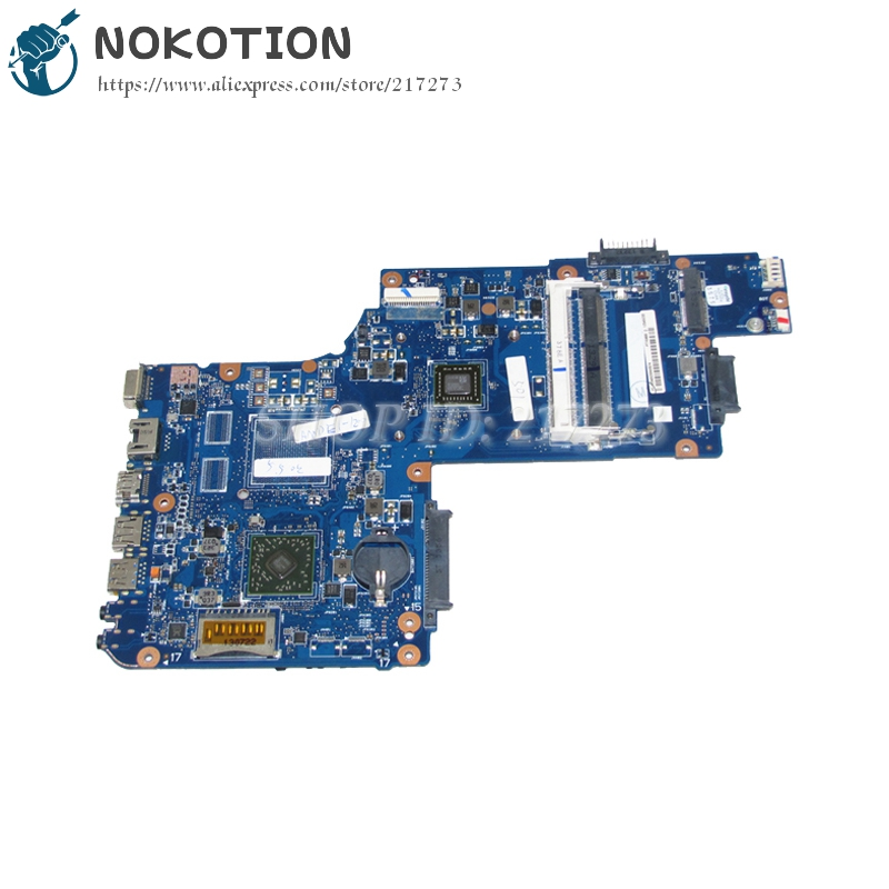 NOKOTION H000062150 PC Motherboard For Toshiba Satellite C50 C50D MAIN BOARD System Board PT10ABX PT10ABXG with CPU OnboardNOKOTION H000062150 PC Motherboard For Toshiba Satellite C50 C50D MAIN BOARD System Board PT10ABX PT10ABXG with CPU Onboard