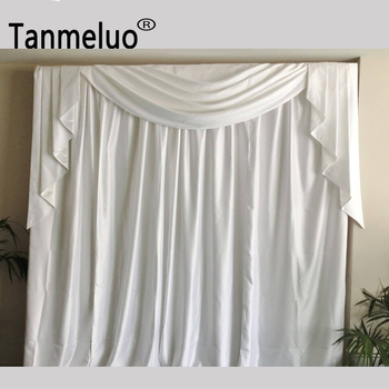 Background Curtain Wedding Party Stage Celebration Drapery Curtain Marriage Backdrop Decoration New Arrival