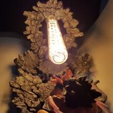Lámpara de Dragon Ball Z, Son Goku ataque Kamehameha, con luces Led