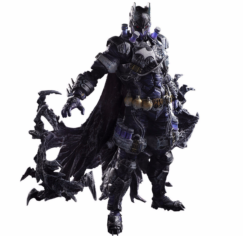 Batman Figure Gogues Gallery Mister Freeze Batman Play Arts Kai Play Art KAI PVC Action Figure Bat Man Bruce Wayne 26cm Doll Toy gogues gallery two face batman figure batman play arts kai play art kai pvc action figure bat man bruce wayne 26cm doll toy
