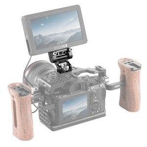 Image 5 - Держатель для монитора с двойной камерой SmallRig, шарнирное крепление EVF, крепление для монитора с контактами для определения местоположения Arri 2174