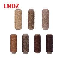 LMDZ Flat Waxed Thread150D 50M Wax String Cord Sewing Craft Tool Portable for DIY Handicraft Leather Products Waxed Thread Cord|Sewing Threads|   -