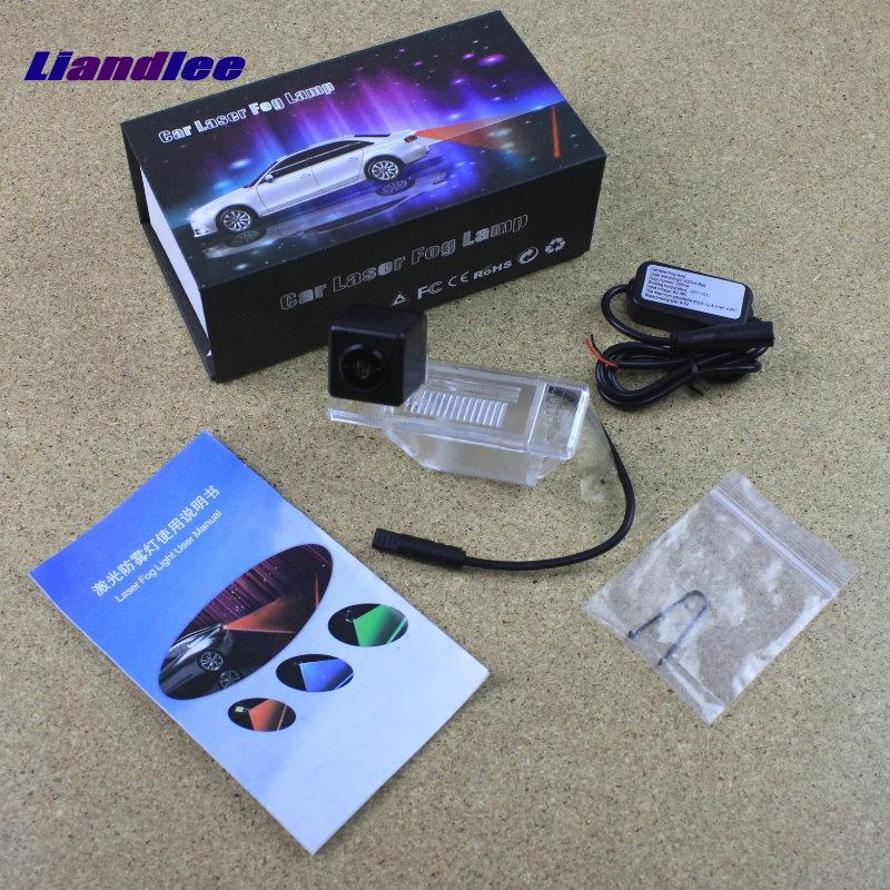 Liandlee Anti Laser For Nissan X-Trail XTrail X Trail Car Prevent Mist Fog Lamps Laser Anti Haze Lamps Warning Rear Light автомобильный dvd плеер zhoon android 4 2 2 dvd gps xtrail nissan x trail