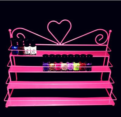 Купить с кэшбэком Nail. Wrought iron nail polish shelf. Show small shelves
