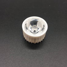 цена 50x 1W 3W Power Lens 20mm Diameter Optical PMMA With White/Black Holder Angle 5 10 15 30 45 60 90 120 Degree LED Lens в интернет-магазинах