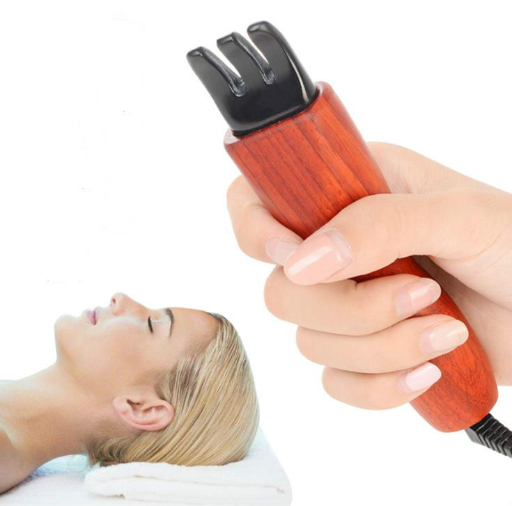 The head massager electric heating span stone scrapping therapy instrument dial muscle massage meridian dredging instrumentThe head massager electric heating span stone scrapping therapy instrument dial muscle massage meridian dredging instrument