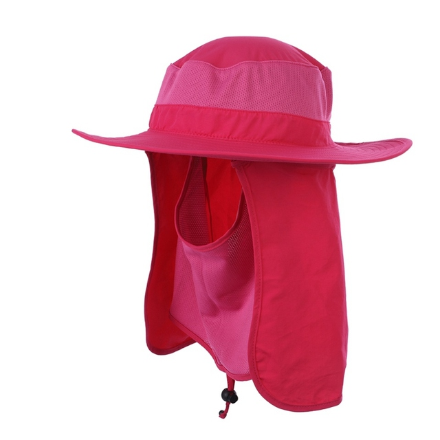 Outdoor Sport Hiking Visor Hat UV Protection Face Neck Cover Fishing Sun  Protect Cap Best Quality f8b4079ac90