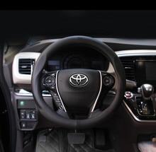 """38 cm Cubierta del volante de cuero del coche para toyota Corolla Vios Reiz YARIS RAV4 CAMRY AURION """"hacer que usted viaje más cómodo"""""""