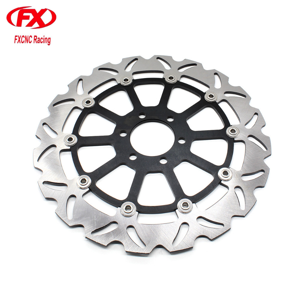 Float Motorcycle Front Brake Disc Disks Rotor Motorbike Brake Disk For KTM 125 200 390 Duke 125Duke 200Duke 390Duke 2013 - 2016 motorcycle rear brake master cylinder reservoir cove for ktm duke 125 200 390 rc200 rc390 2012 2013 2014