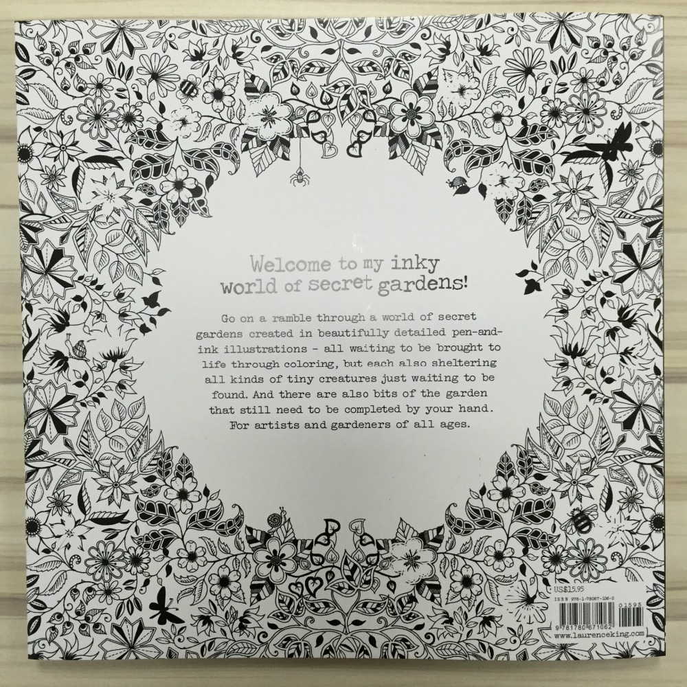 Mandala Secret Garden Coloring Book