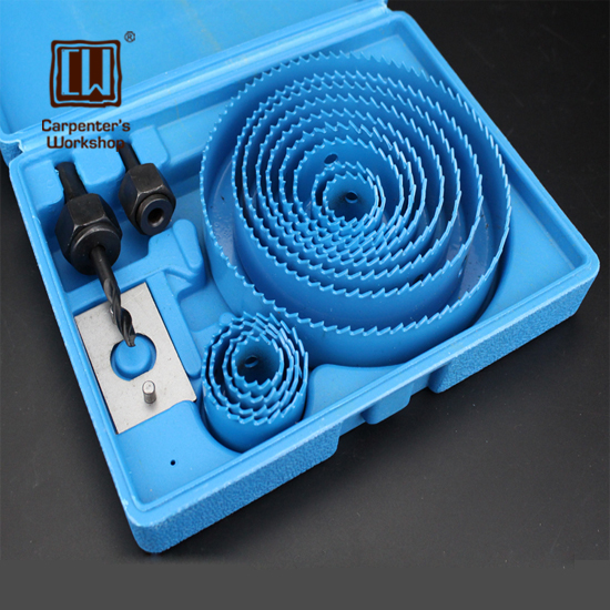 Carpenter's Workshop,Woodworking Drill Set Gypsum Board Downlight Puncher Wooden Plastic Pvc Hole Drill Reamer Drill Bits