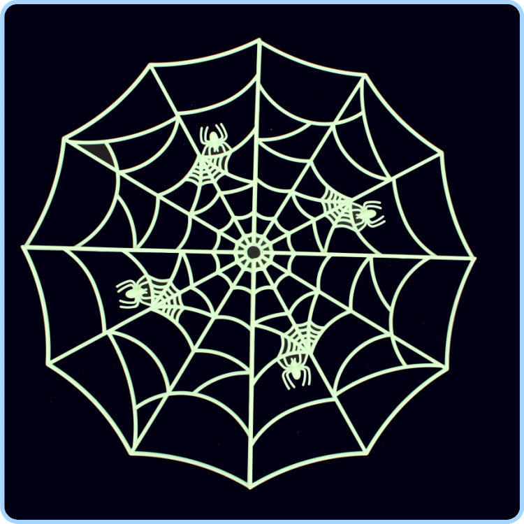 Kerst Navidad 2017 Halloween Haunted House Supplies Bar KTV Decorative Props Tricky Toys Luminous Spider Web 142g new promotion newborn photographic background christmas vinyl photography backdrops 200cm 300cm photo studio props for baby l823