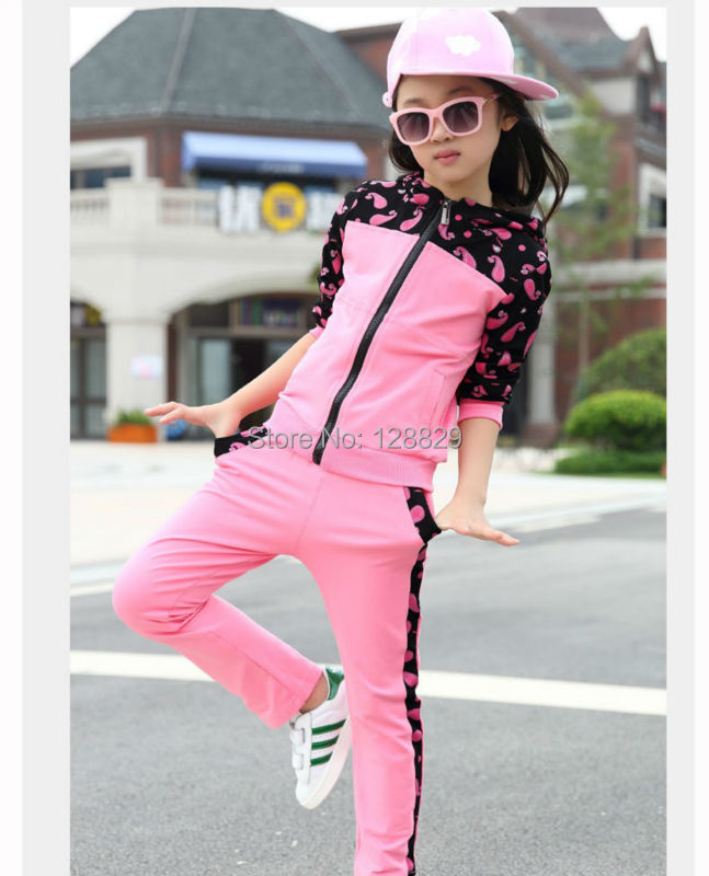 Girls Sports Suits (2)