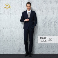 Wrwcm Custom Men Suit High Quality Custom Tailored Two Color Support Enterprise Customization Gentleman Style Custom Made