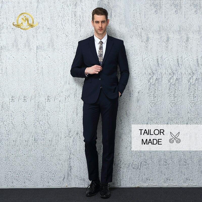 Wrwcm personnalisé hommes costume de haute qualité personnalisé deux couleurs soutien entreprise personnalisation Gentleman Style sur mesure