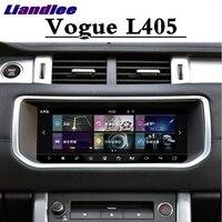 ل اند روفر ل رينج روفر فوغ L405 2012 ~ 2019 Liandlee سيارة مشغل وسائط متعددة نافي CarPlay راديو شاشة GPS والملاحة