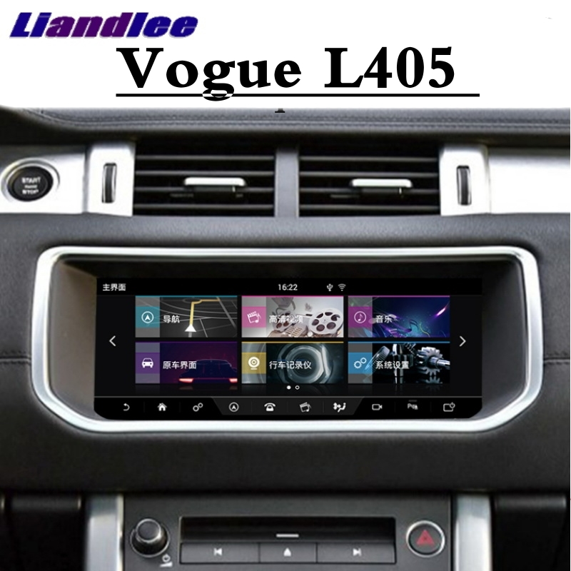 Para Land Rover Para Range Rover Vogue L405 2012 ~ 2019 Liandlee Reprodutor multimídia Carro CarPlay NAVI Rádio GPS Tela navegação