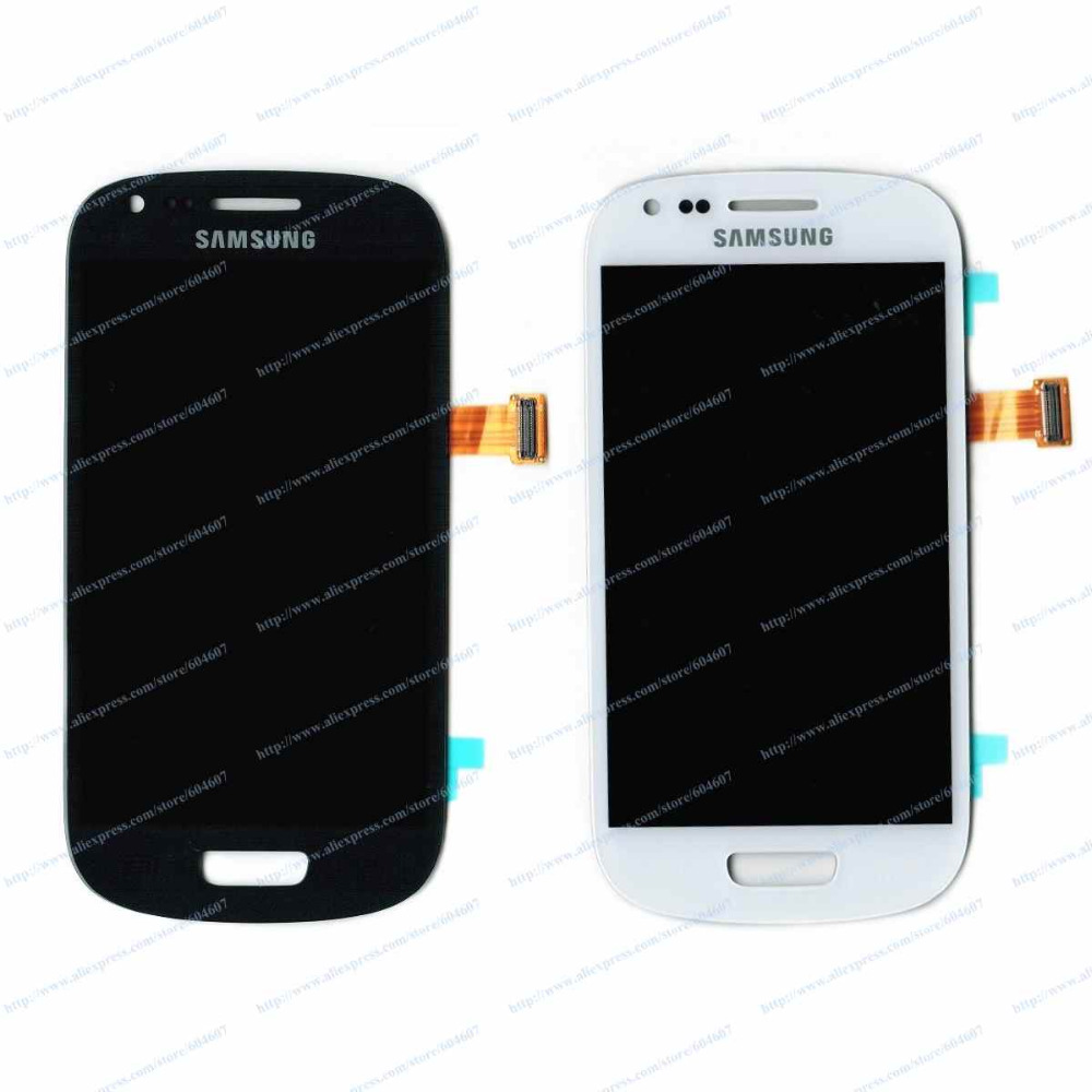 New White or Blue OEM Touch screen with Digitizer+LCD Display Assembly for Samsung Galaxy S3 Mini I8190 GT-I8190 Phone мужские футболки