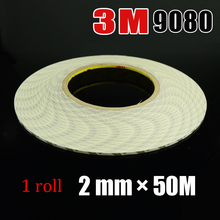 0.08 inch * 55 Yards 3M 9080 Hi-Temp Double Sided Tape Adhesive Versatile Adhesive