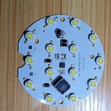 2 шт. светодиодный светильник 48 Вт 18 Вт интегрированный драйвер 14 СВЕТОДИОДНЫЙ печатной платы объектив DC12-80V для светодиодный