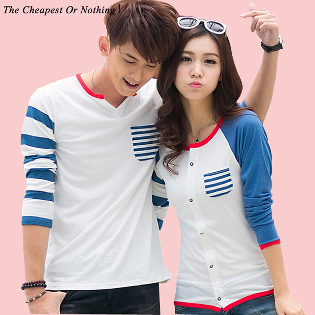 2017 Valentine S Day Gift Couple T Shirt Lovers Clothes Women S