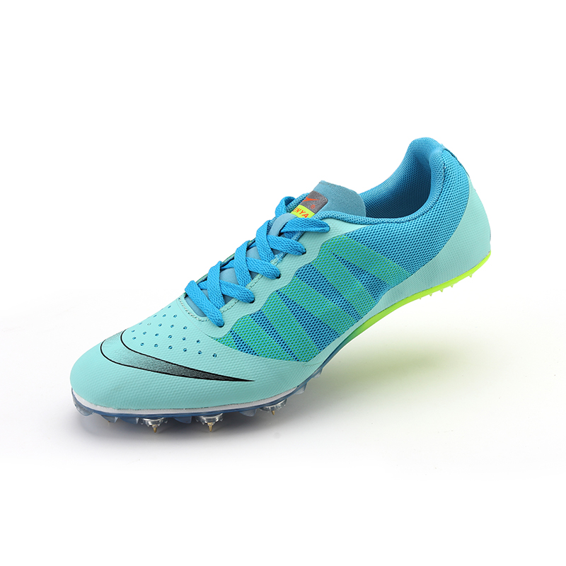 2018 New Track and Field for Men Lace Up Slip resistant Spike Nail Sneakers Teenager Professional Sprint Spike Training Shoes-in Running Shoes from Sports & Entertainment on AliExpress - 11.11_Double 11_Singles' Day 1