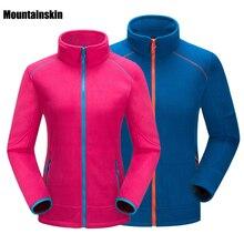 Mountainskin Для Мужчин's Для женщин зима софтшелл флис спортивные куртки пальто Пеший туризм походы Лыжный спорт мужской женский куртки VA102
