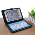 Universal 7 polegadas mini silencioso teclado slim sem fio bluetooth para ios ipad galaxy tabs & android tablets windows/desktop/laptop