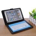 Universal de 7 pulgadas mini silencioso delgado teclado bluetooth inalámbrico para ipad galaxy tabs ios y android tabletas ventanas/escritorio/laptop