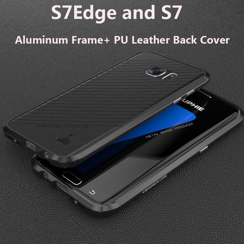 2016 Luphie Brand Metal Case for SAMSUNG Galaxy S7 Edge S7 Aircraft Aluminum Bumper Frame Phone