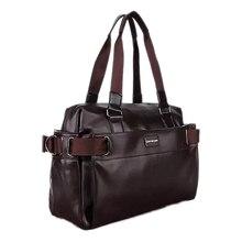 TEXU 2016 Männer Casual Aktentasche Business Schulter Leder Messenger Bags Computer Laptop Handtasche männer Reisetaschen