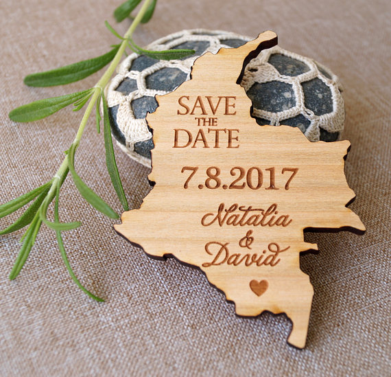 State Shape Save The Dates Rustic Wooden Date Magnets Us In Party Favors From Home Garden On Aliexpress Alibaba Group