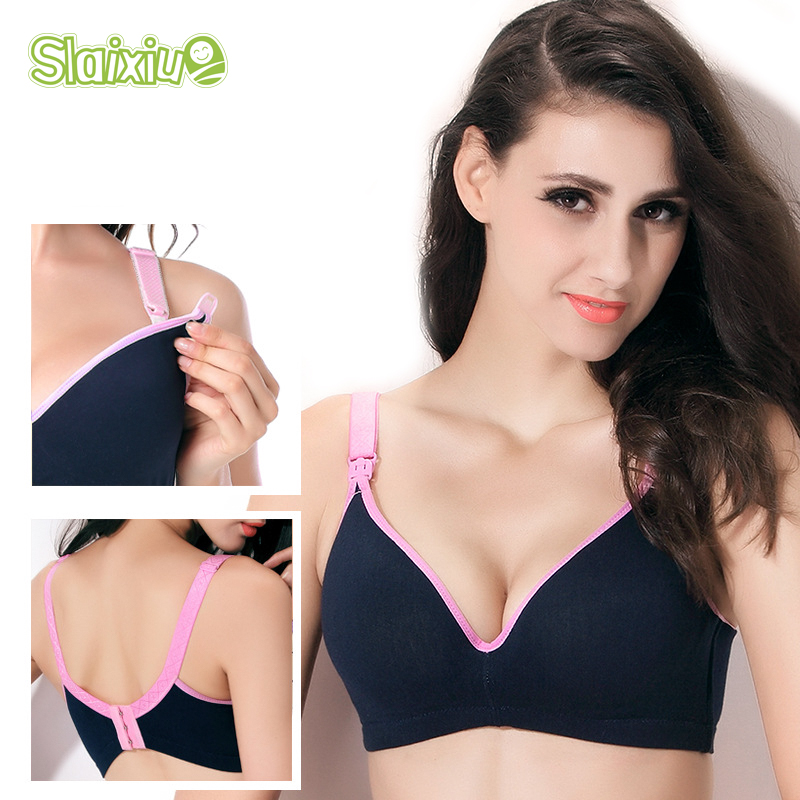 Cotton Maternity Nursing Bras Pregnancy Women Underwear Breast Feeding Bra Pregnant Breastfeeding Soutien Gorge Allaitement