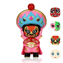 4 Faces Action Figure Fun Novelty Anime Figure Peaking Opera DIY Toys Ornaments Gift BeiJing Traditional Facechanging Doll цена и фото