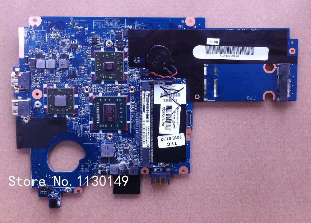 ФОТО Laptop Motherboard 608640-001 For HP DM1 motherboard DDR3 Fully Functional!Full testing!Good working!