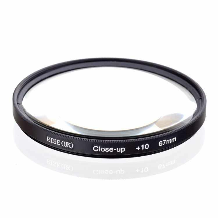 Close Up Makro Filter + 1 + 2 + 4 + 10 Close-Up 37 Mm 40.5 Mm 43MM 49 Mm 52 Mm 55 Mm 58 Mm 62 Mm 67 Mm 72 Mm 77 Mm untuk Canon Nikon sony Kamera